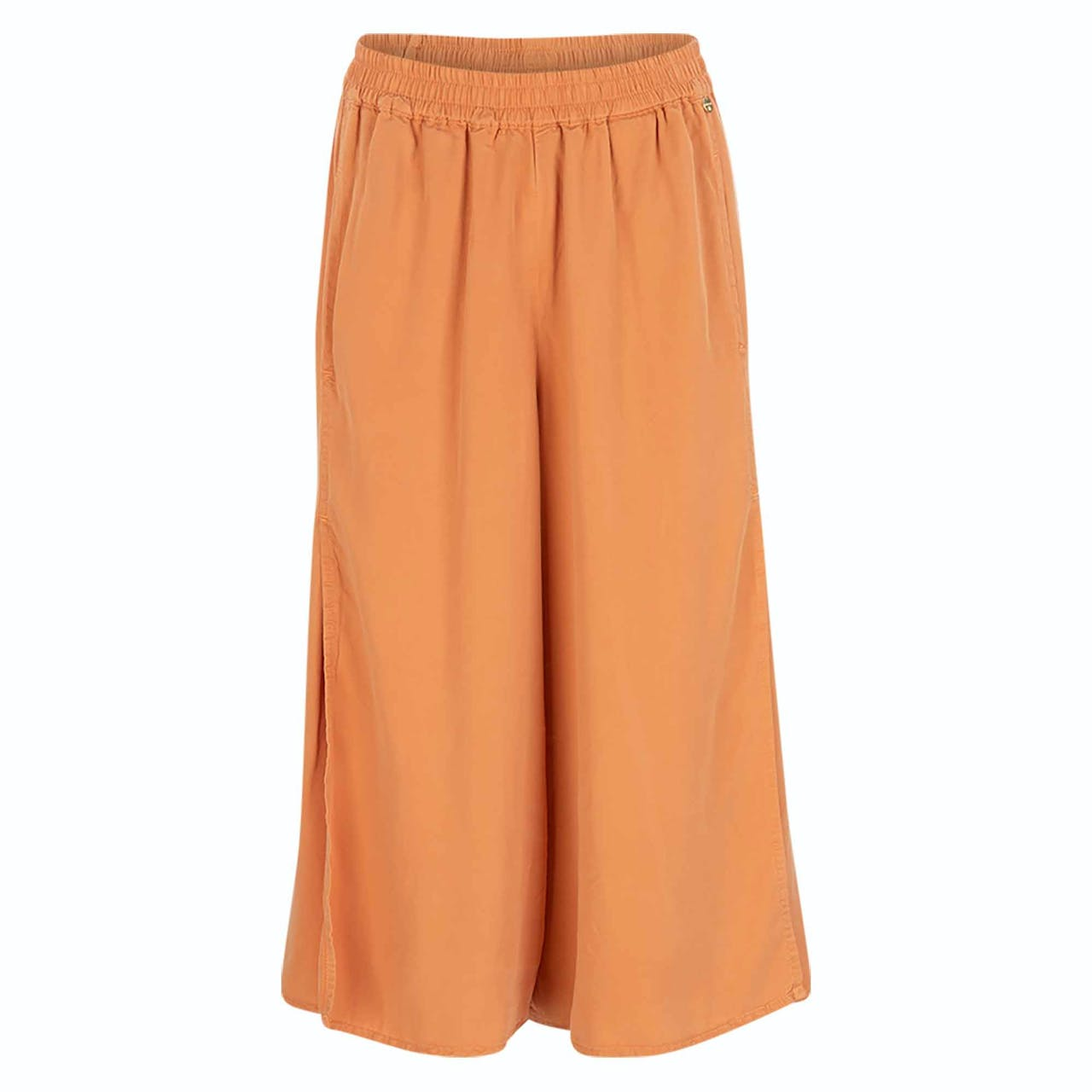 Culotte - Relaxed Fit - Unifarben