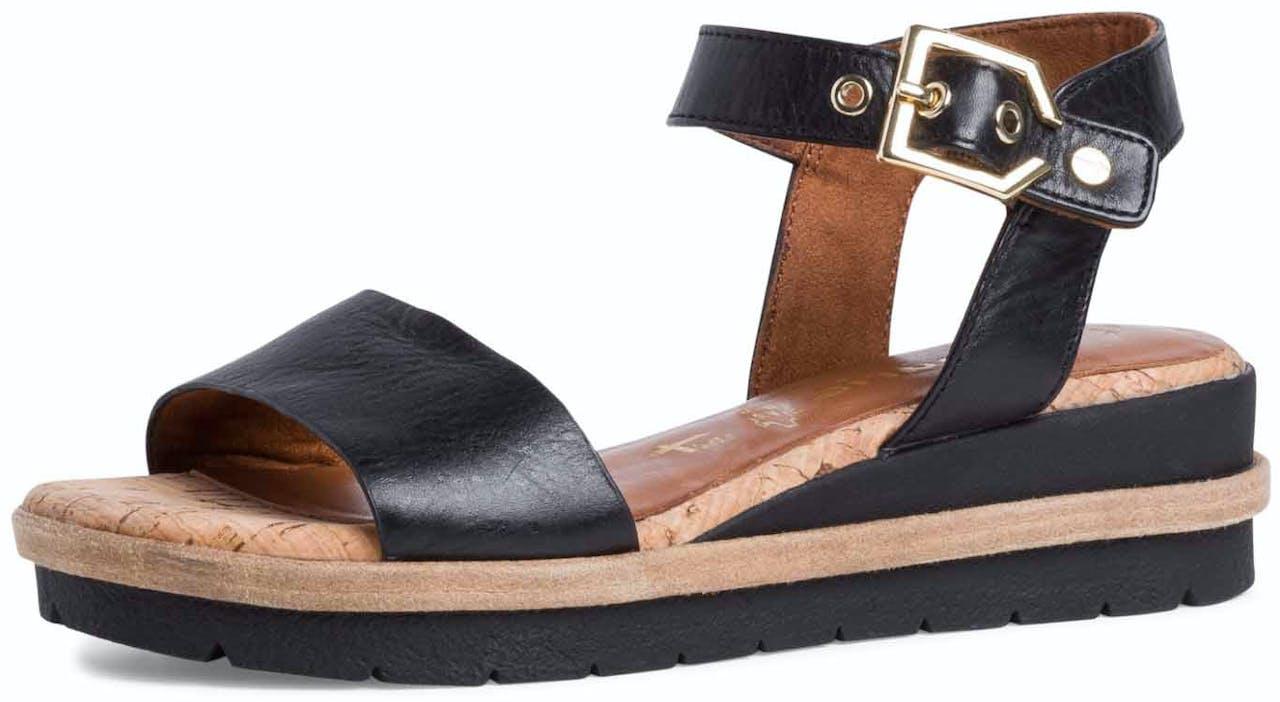 Sandale - Leder-Mix