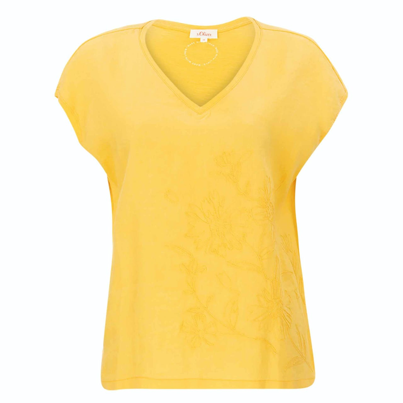 T-Shirt - Loose Fit - V-Neck