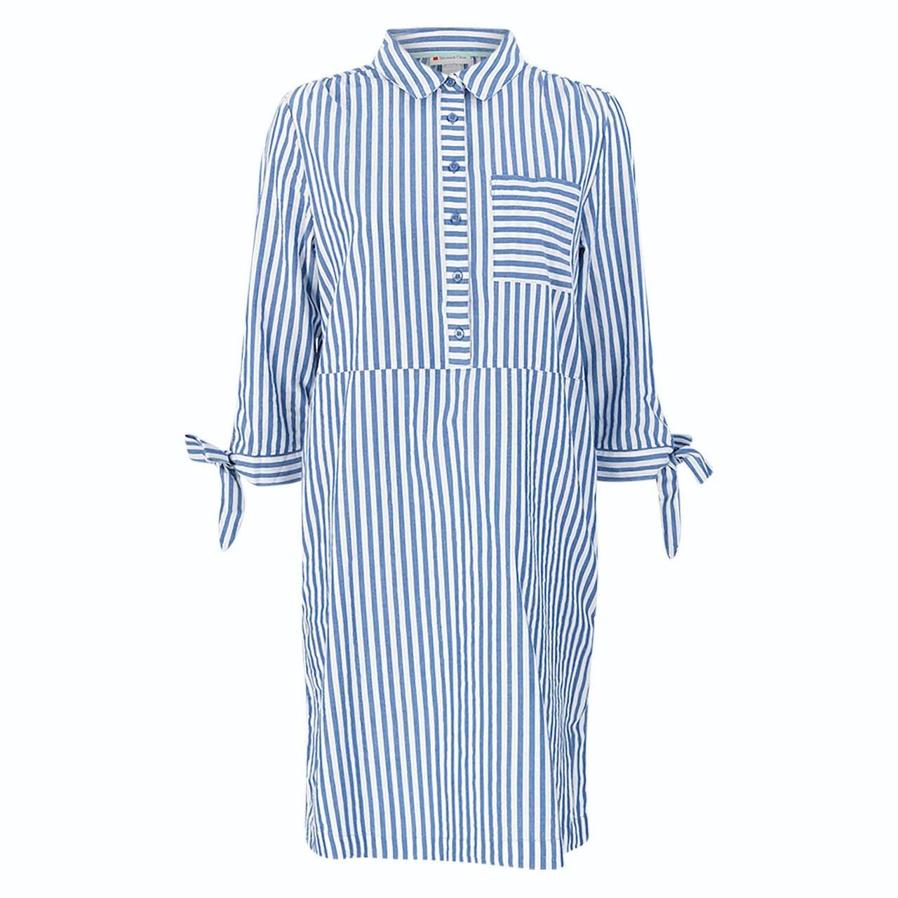 Kleid - Loose Fit - Stripes