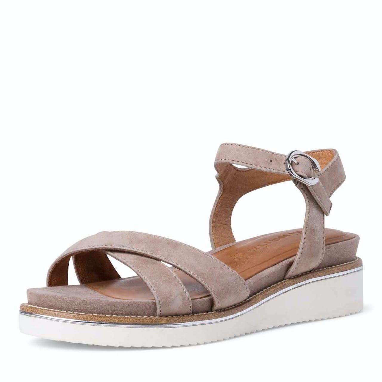 Sandale - Leder-Optik