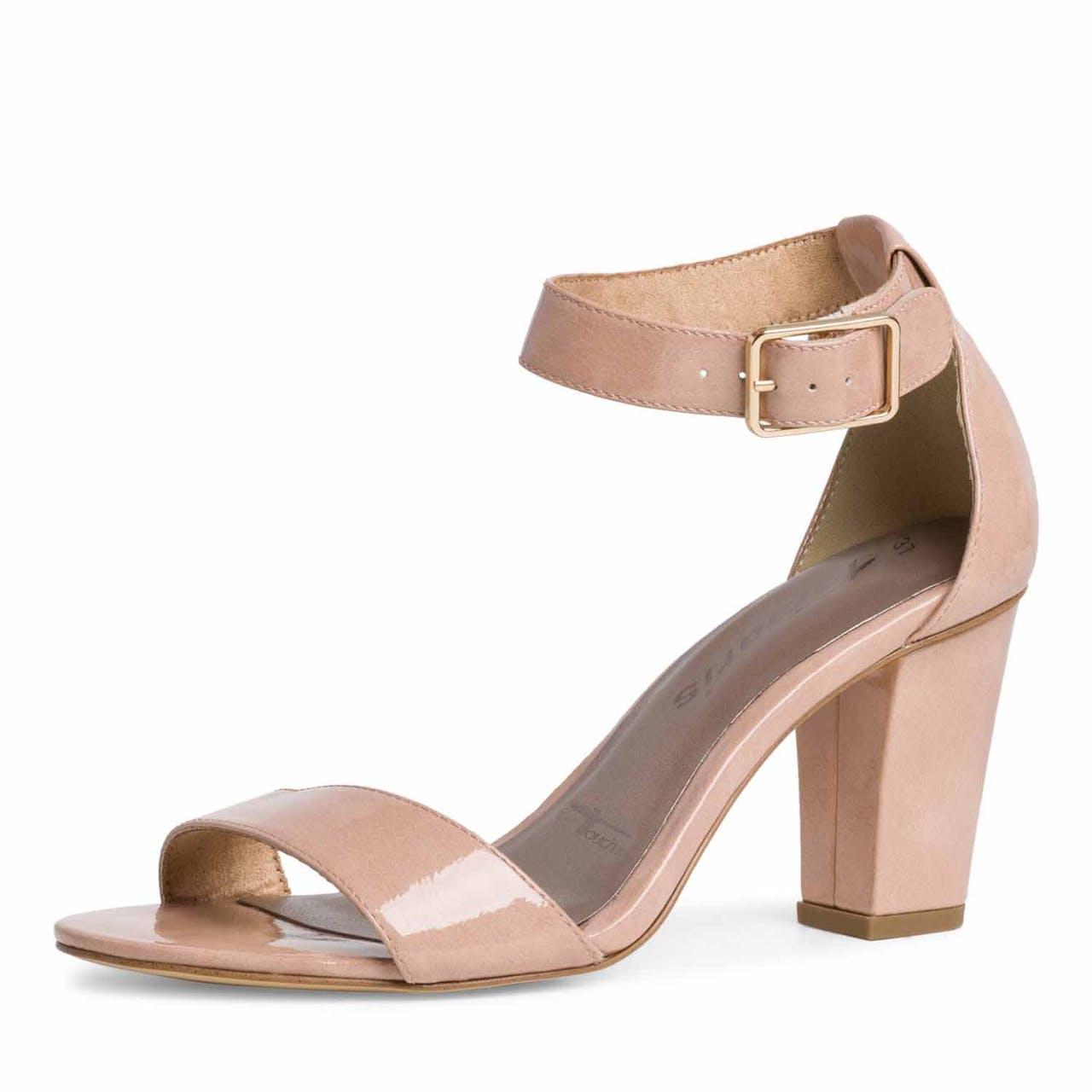 Sling-Sandale -  Leder-Optik