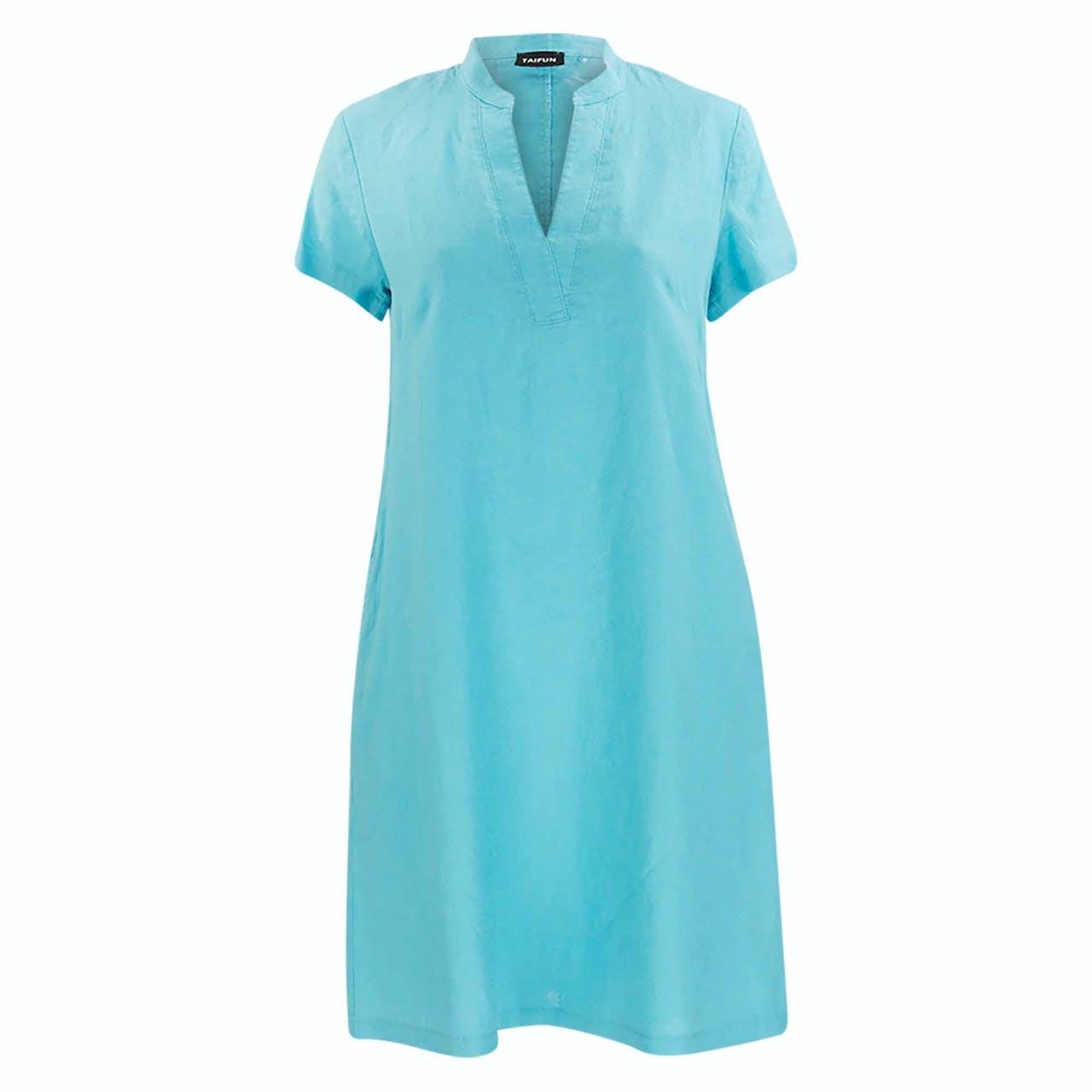 Kleid - Regular Fit - Leinen