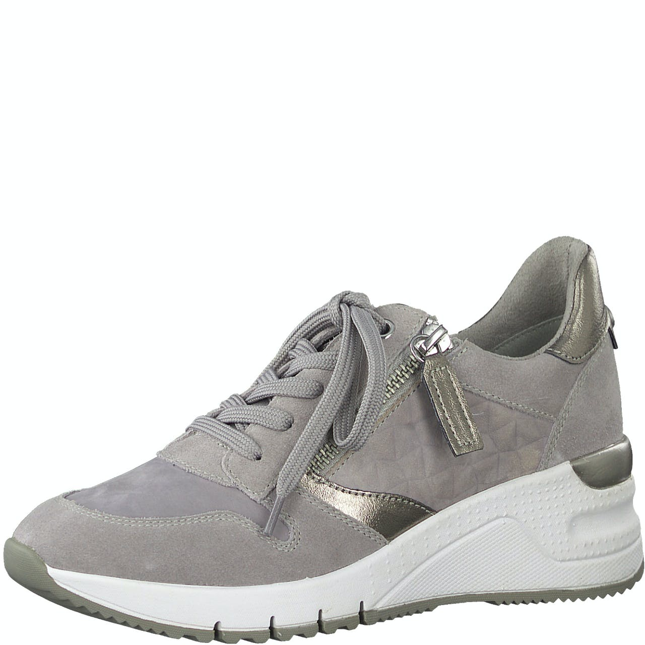 Sneaker - Leder-Mix