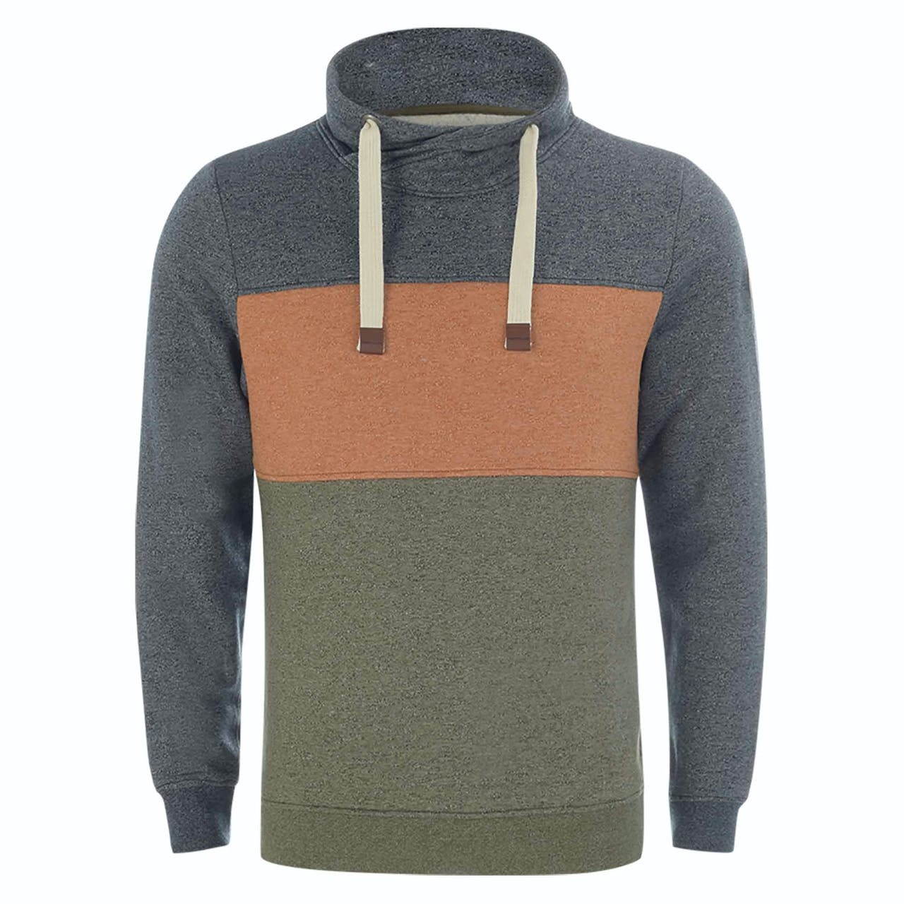 Sweatshirt - Regular Fit - Schalkragen