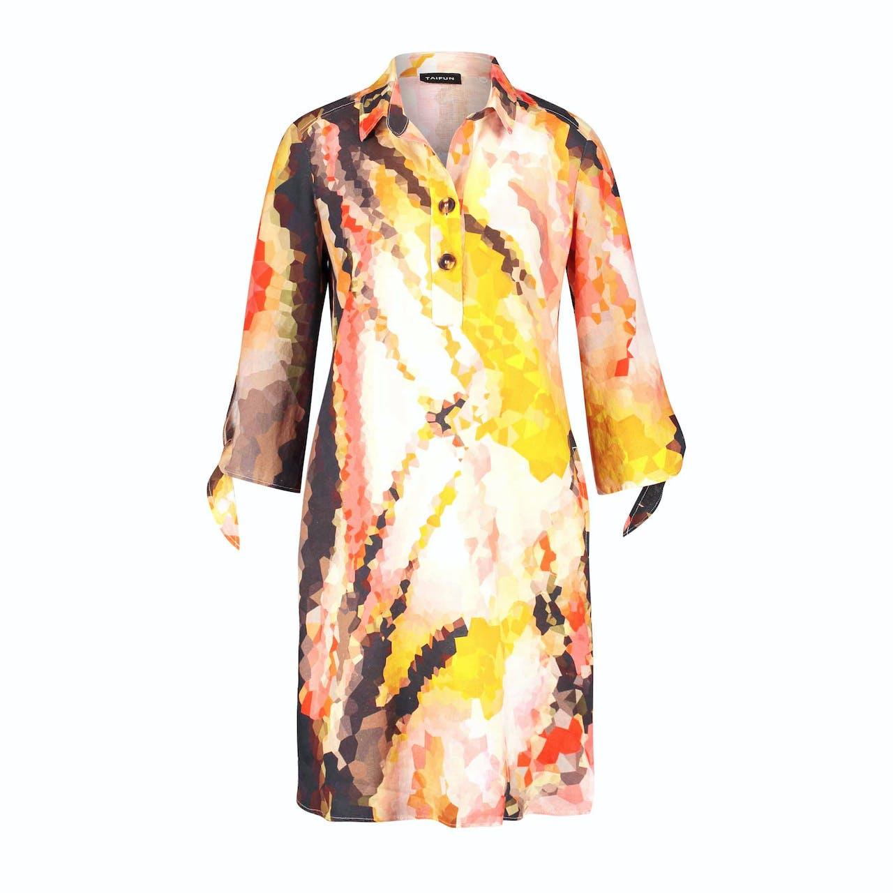 Tunika-Kleid - Regular Fit - Leinen