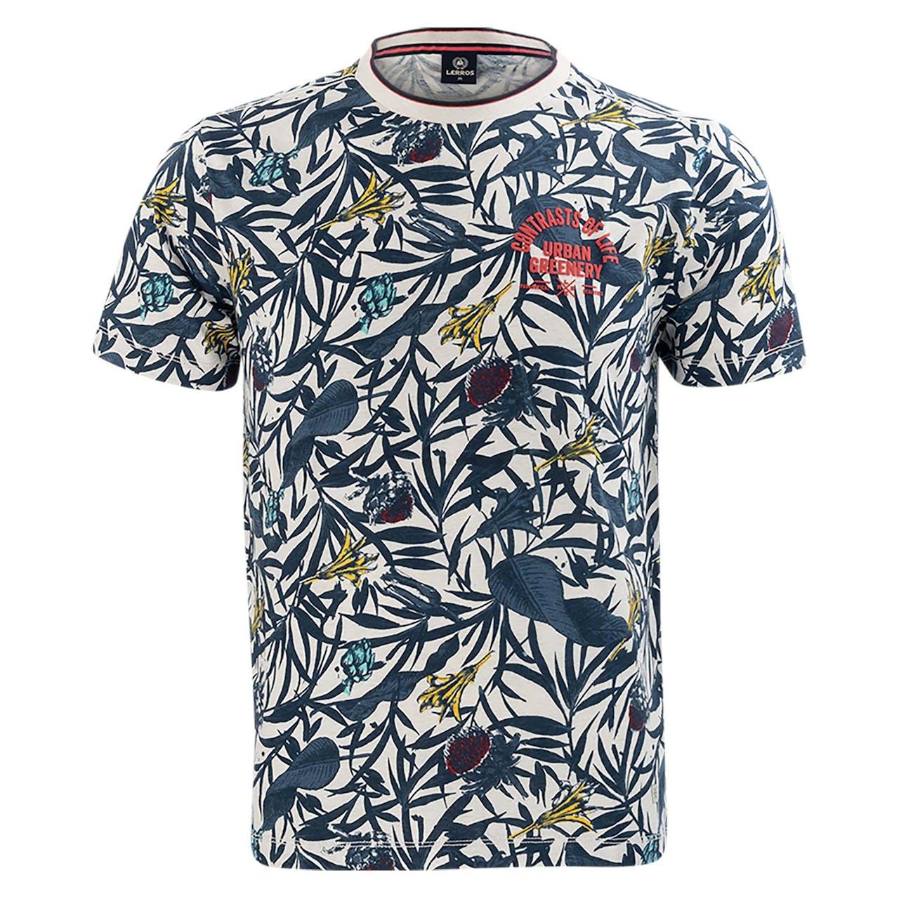 T-Shirt - Regular Fit - Allover Print