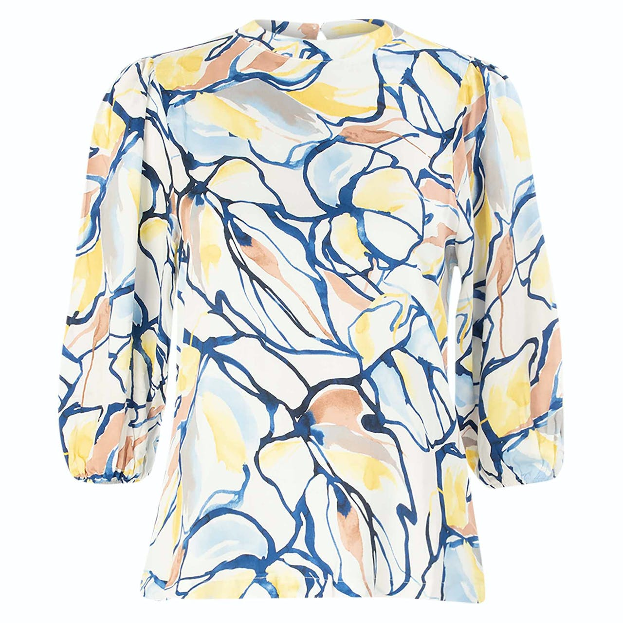 Bluse - Regular Fit - Print