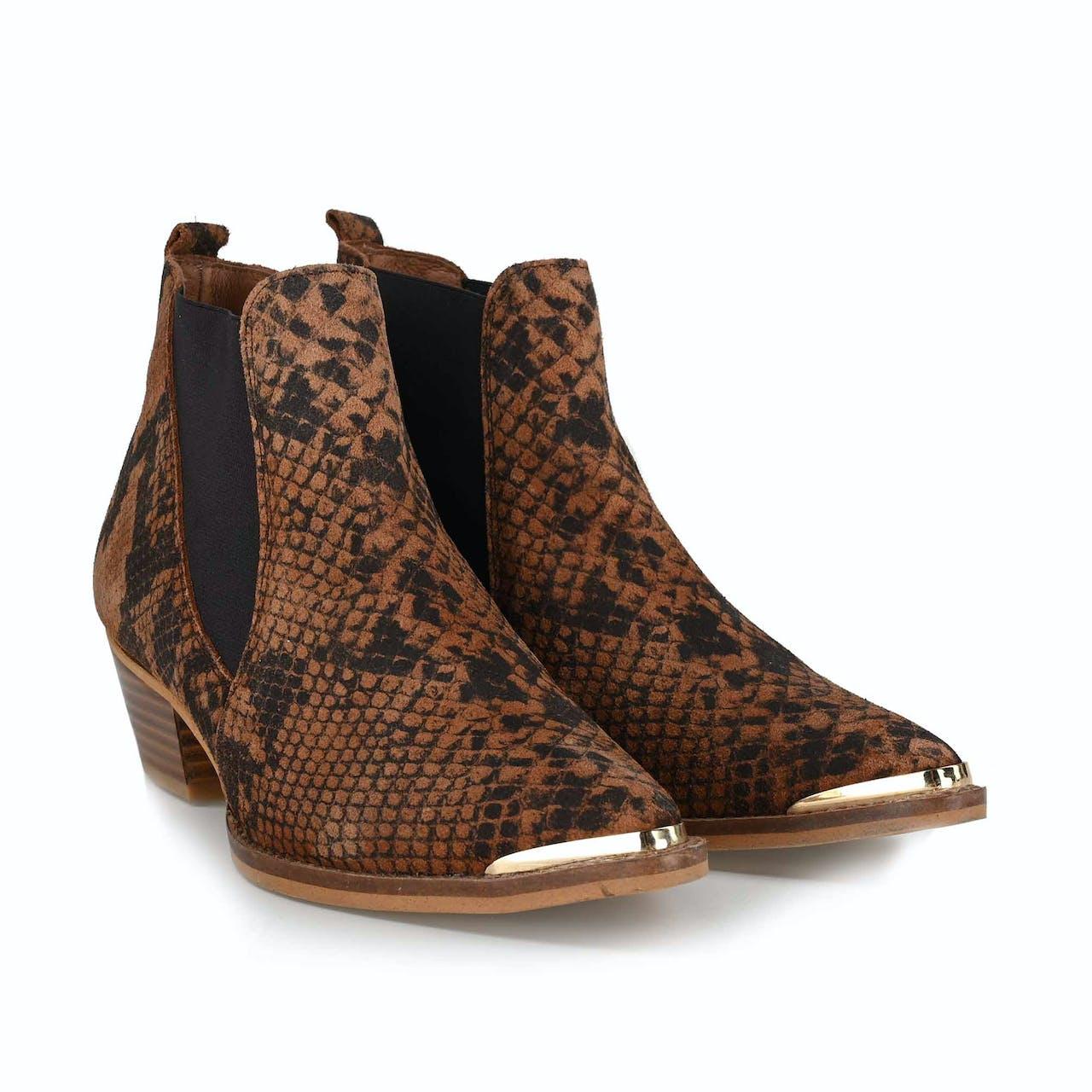 Stiefelette - Dallas Snake Boot