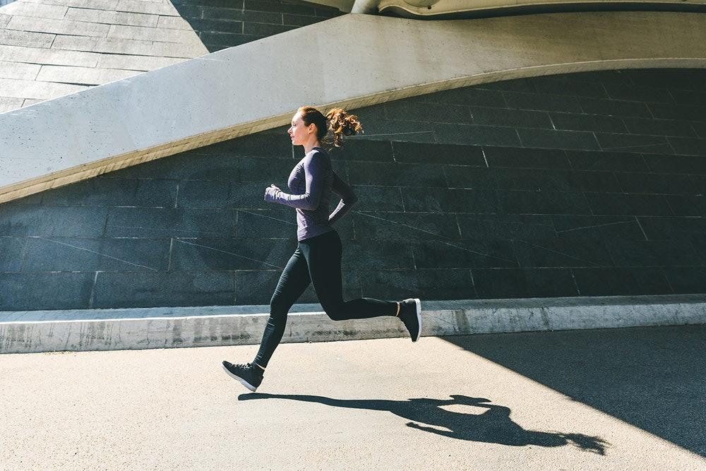 Laufen mit Runner's Knee
