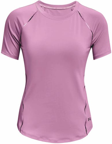 Under Armour UA Rush Scallop SS - T-shirt fitness - donna
