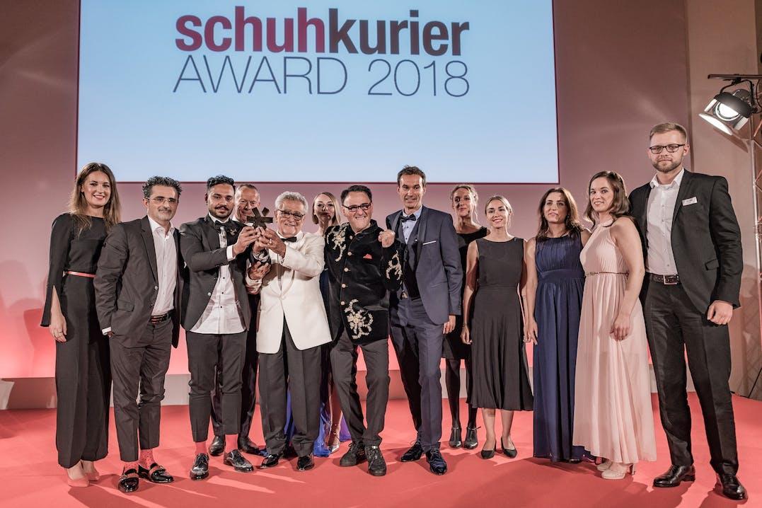 Schuhkurier Award 2018 für Melvin & Hamilton