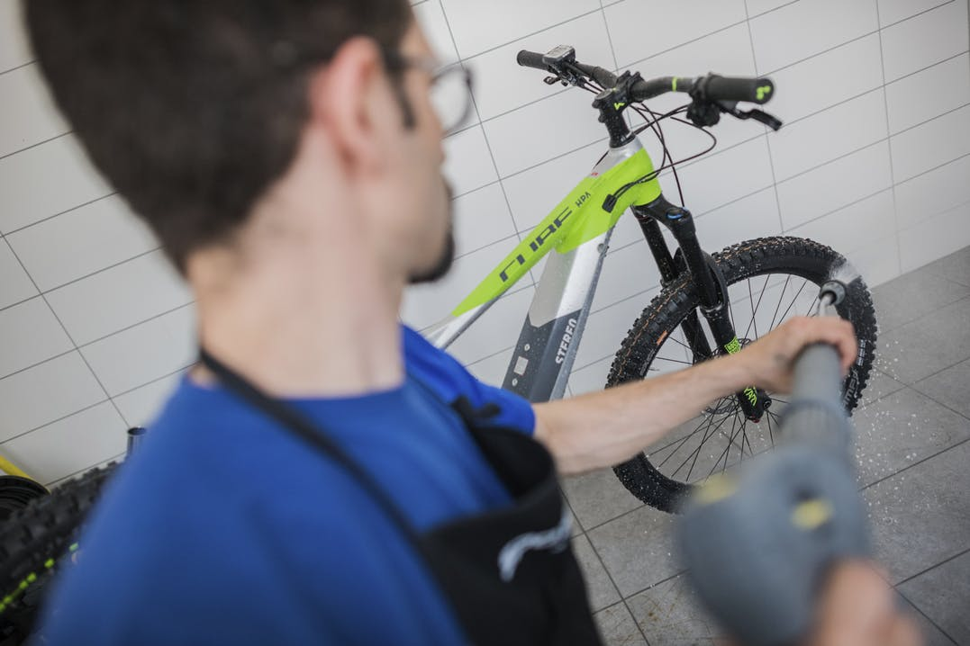 Bike Wash Service