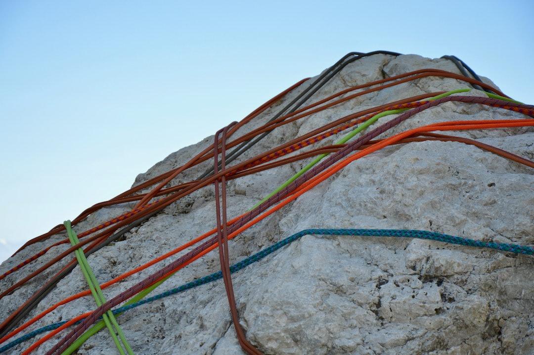 Corde d'arrampicata Val Gardena Sassolungo Transalp