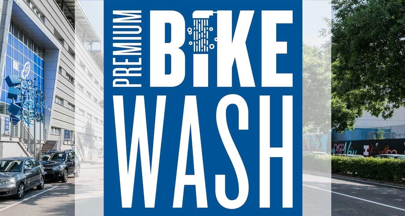 Premium Bike Wash nel Service Center SPORTLER - via Bruno Buozzi 2 L a Bolzano