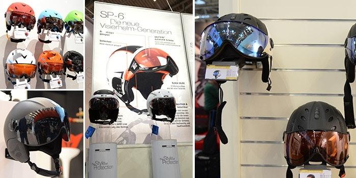 Genau im Visier! Die Helmhersteller schwören mehr und mehr auf integrierten Augenschutz.