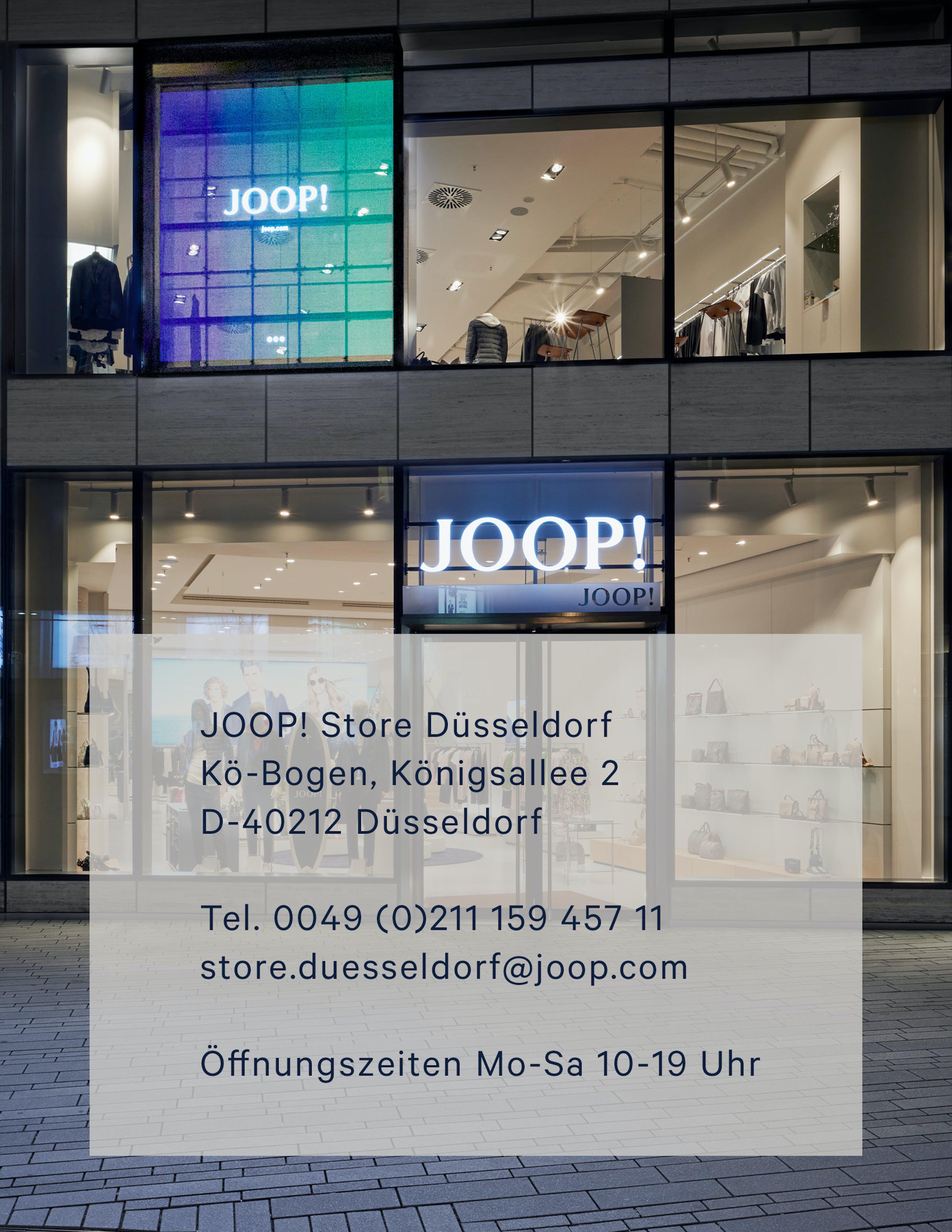 JOOP! Store Düsseldorf Adresse