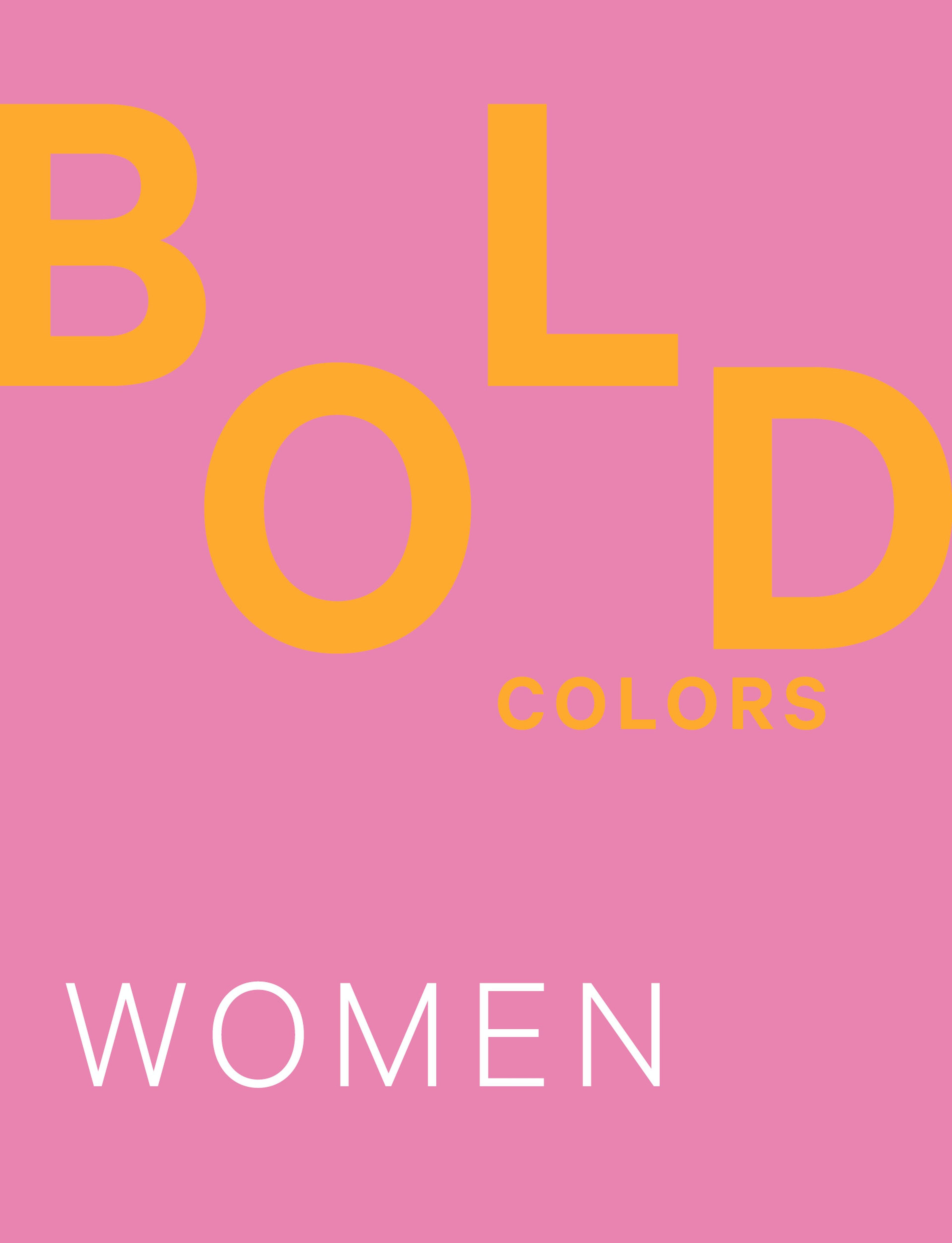 JOOP! BOLD COLORS WOMEN