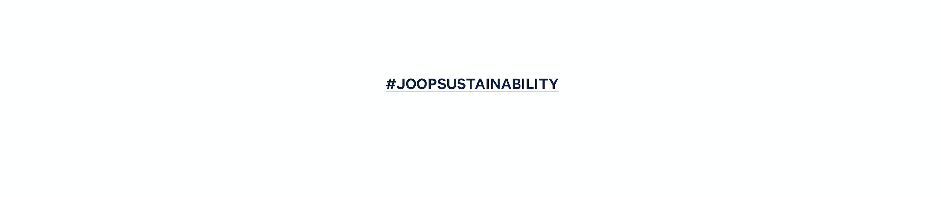 #joopsustainability