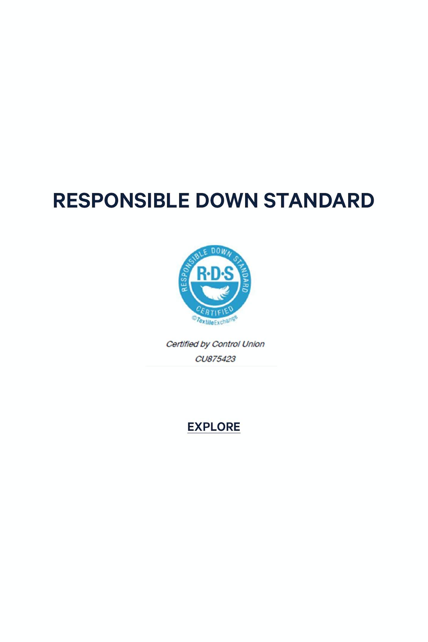RESPONSIBLE DOWN STANDARD