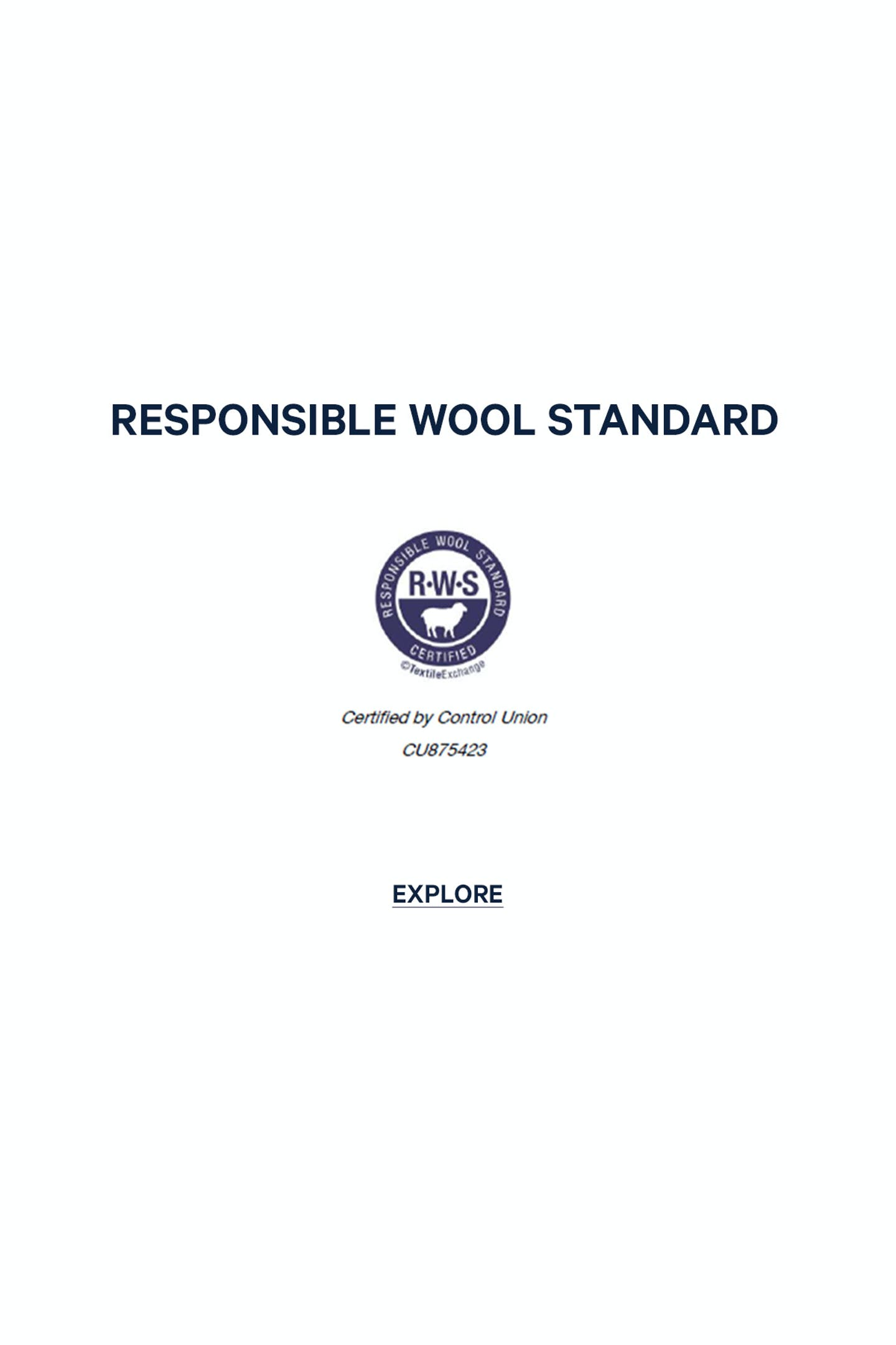 RESPONSIBLE WOLL STANDARD