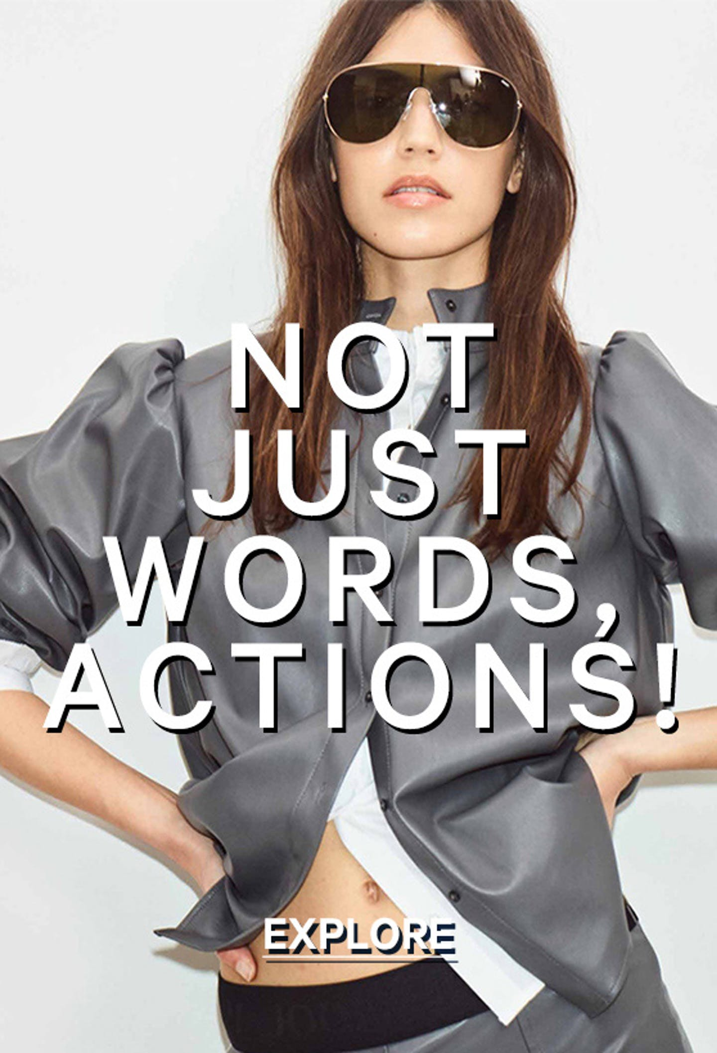 not just words