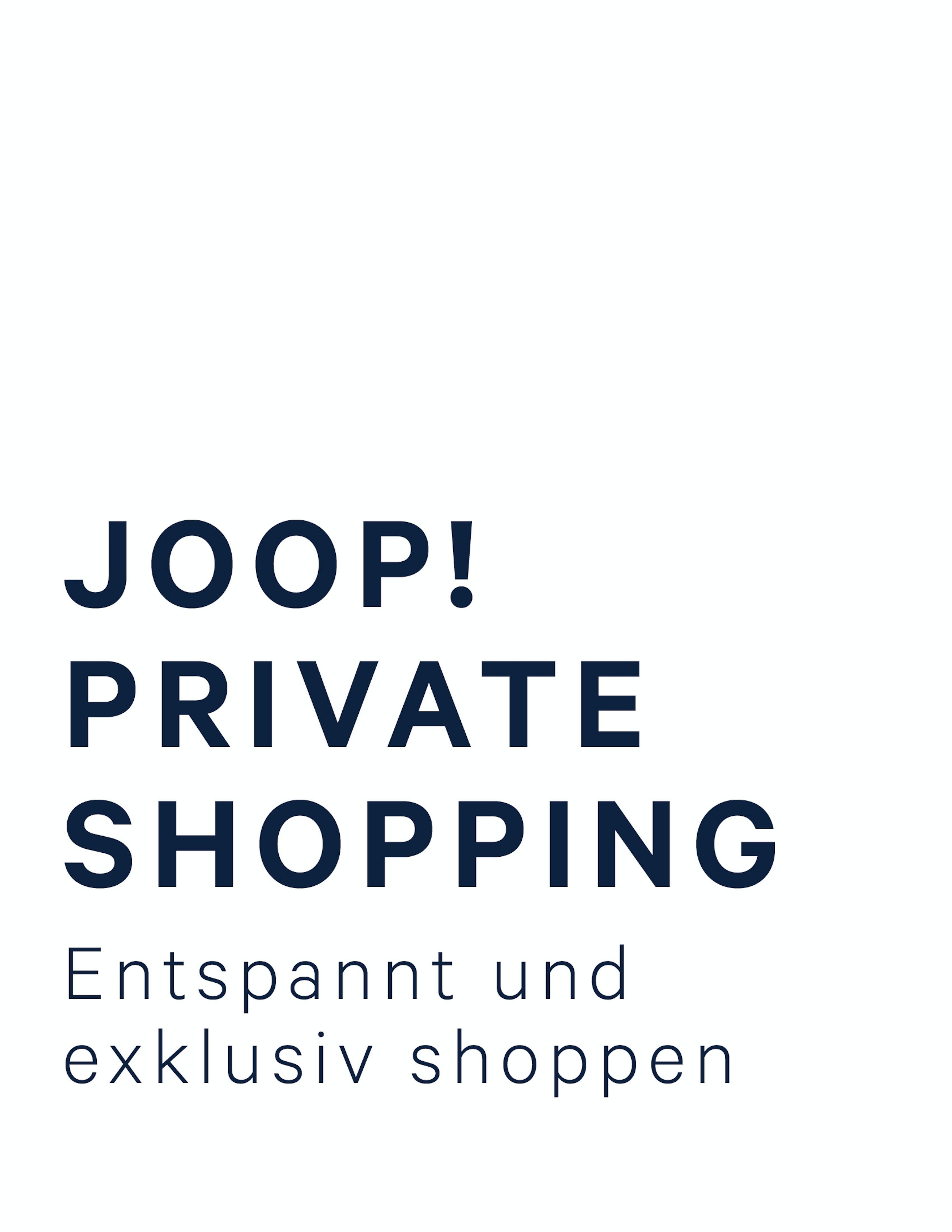 Exklusiv und entspannt shoppen