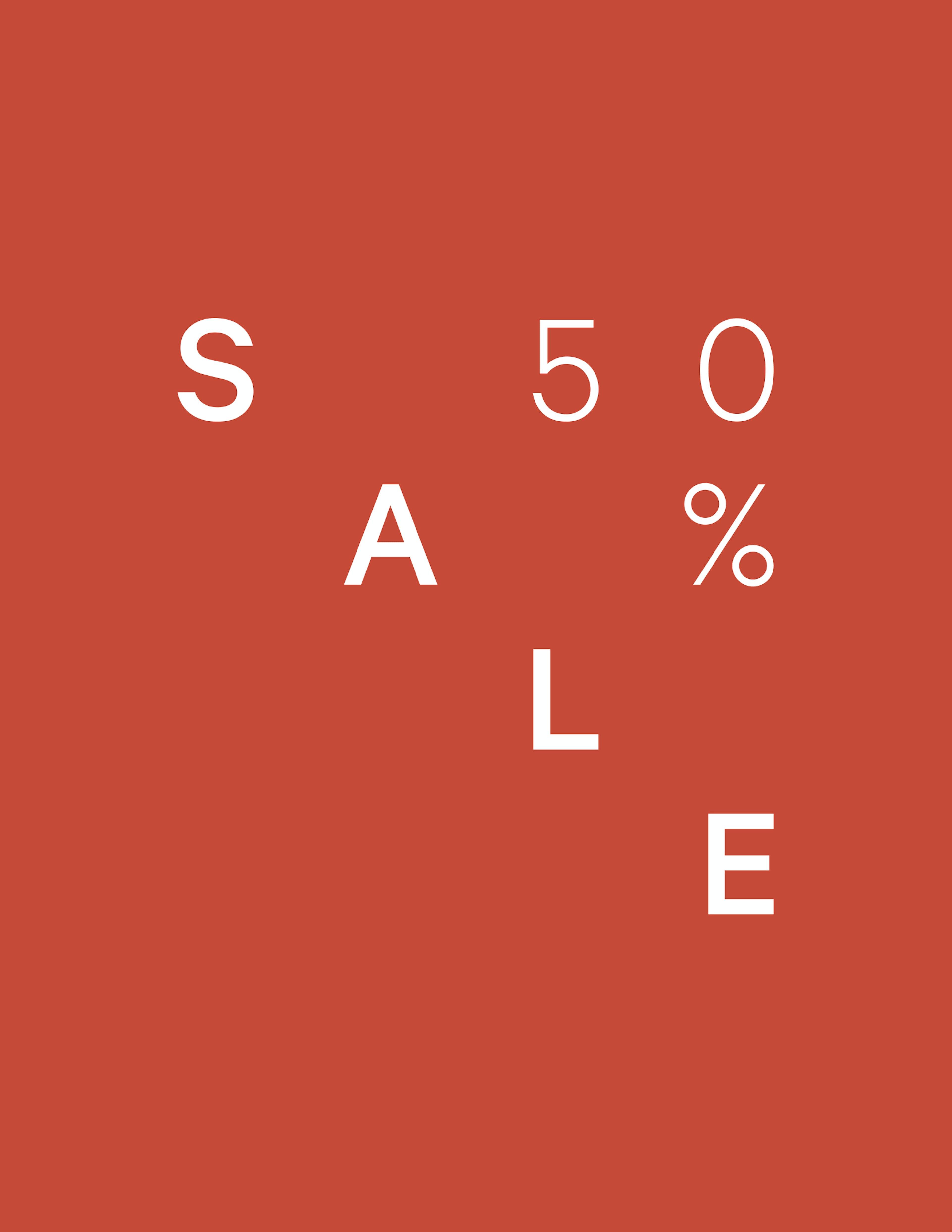 Sale bis zu 50%