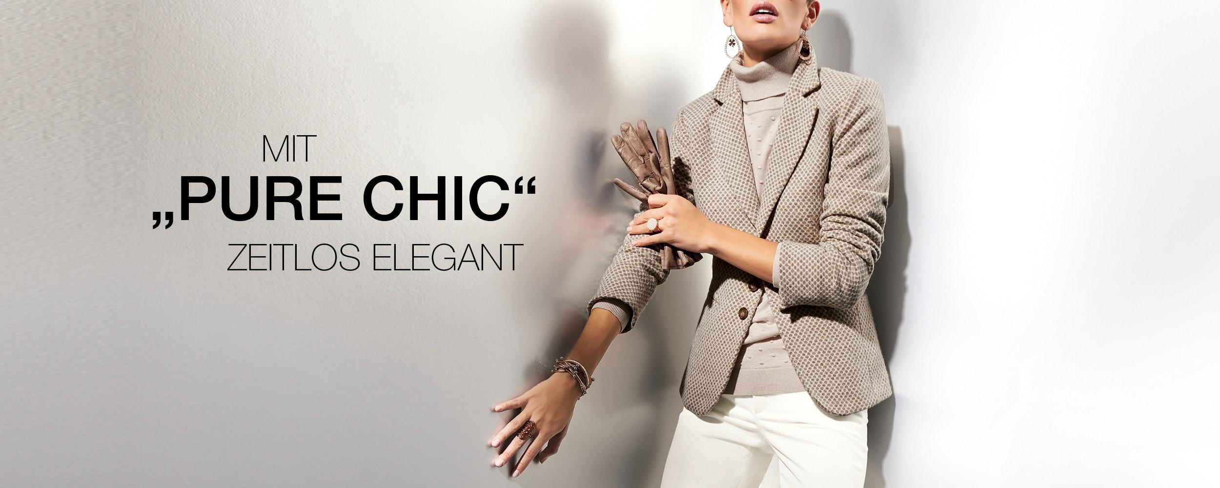 """Mit """"Pure Chic"""" zeitlos elegant"""