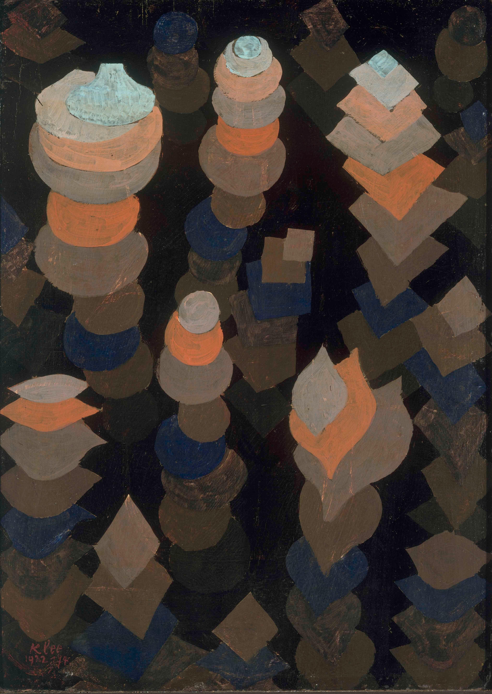 Paul Klee, Wachstum der Nachtpflanzen, 1922 © Bayerische Staatsgemäldesammlungen, Foto: Sibylle Forster