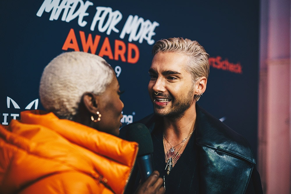 Bill Kaulitz im Interview mit Nikeata Thompson
