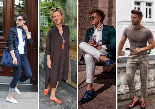 Bloggers wearing Melvin & Hamilton shoes