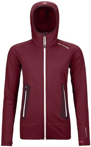 Ortovox Merino Fleece Light Hoodie - giacca con cappuccio - donna