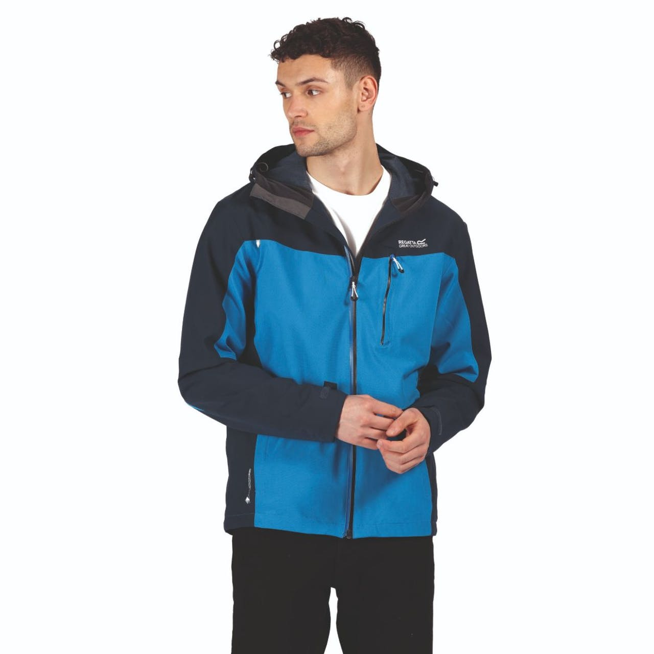 Regatta Birchdale Gents Blue Waterproof Jacket