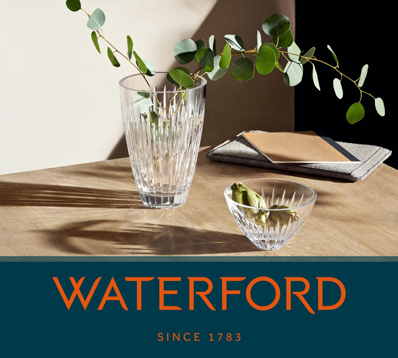 Shop Waterford Crystals Range of crystal bowls, Vases, Frames, barware and much more online at Kilkenny Shop