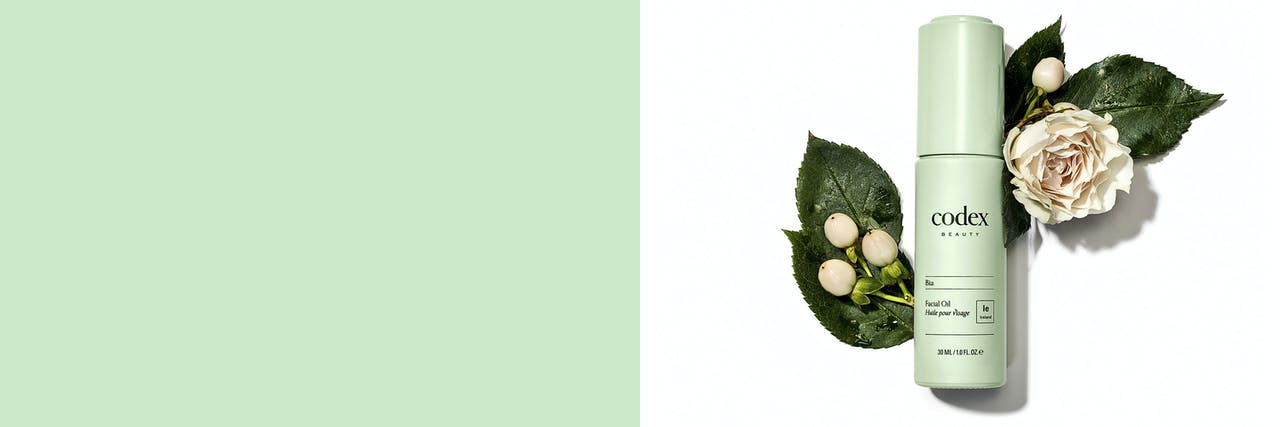 Codex Beauty labs skincare range is created using sustainable ingredients