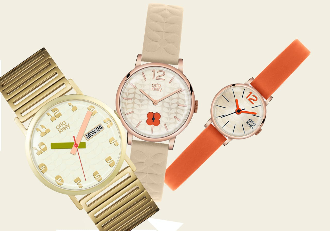 Orla Kiely women's wrist watches available online