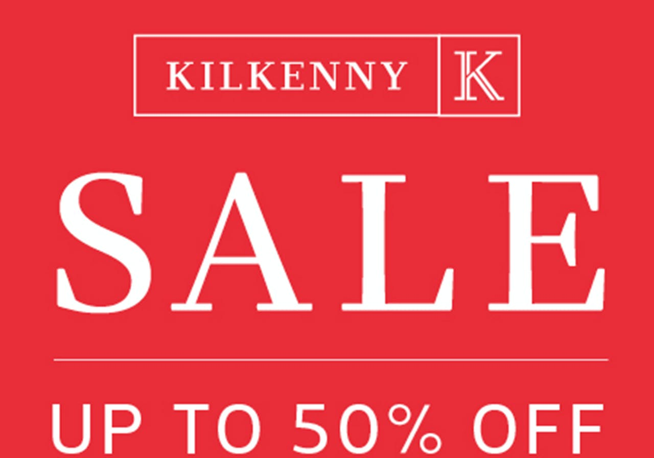 Kilkenny Shop sale now on. Up to 50% off homeware, jewellery, accessories and more