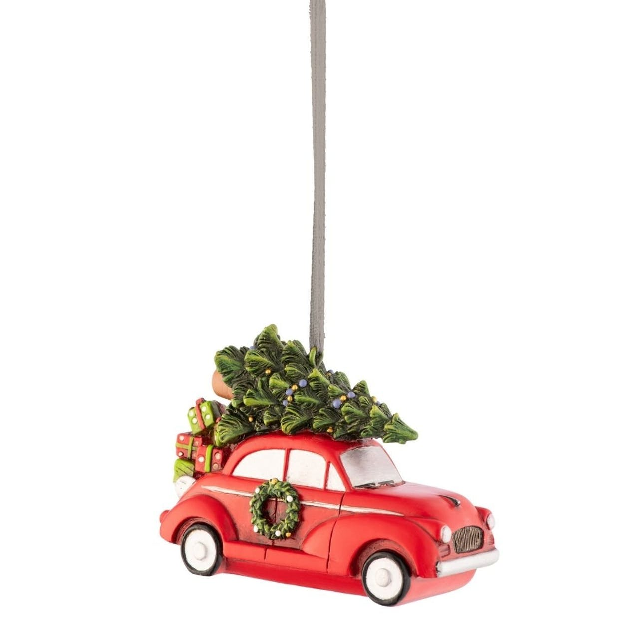 Driving Home for Christmas Hanging Ornament