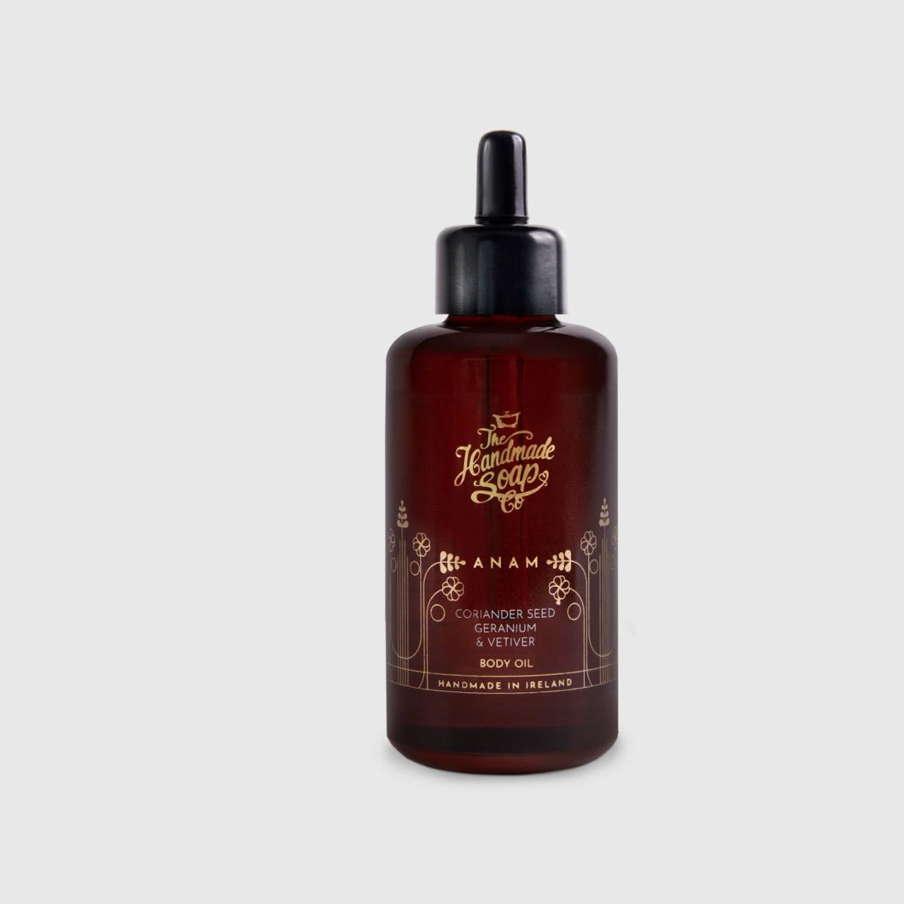 Handmade Soap Company ANAM Coriander Seed, Geranium & Vetiver Body Oil