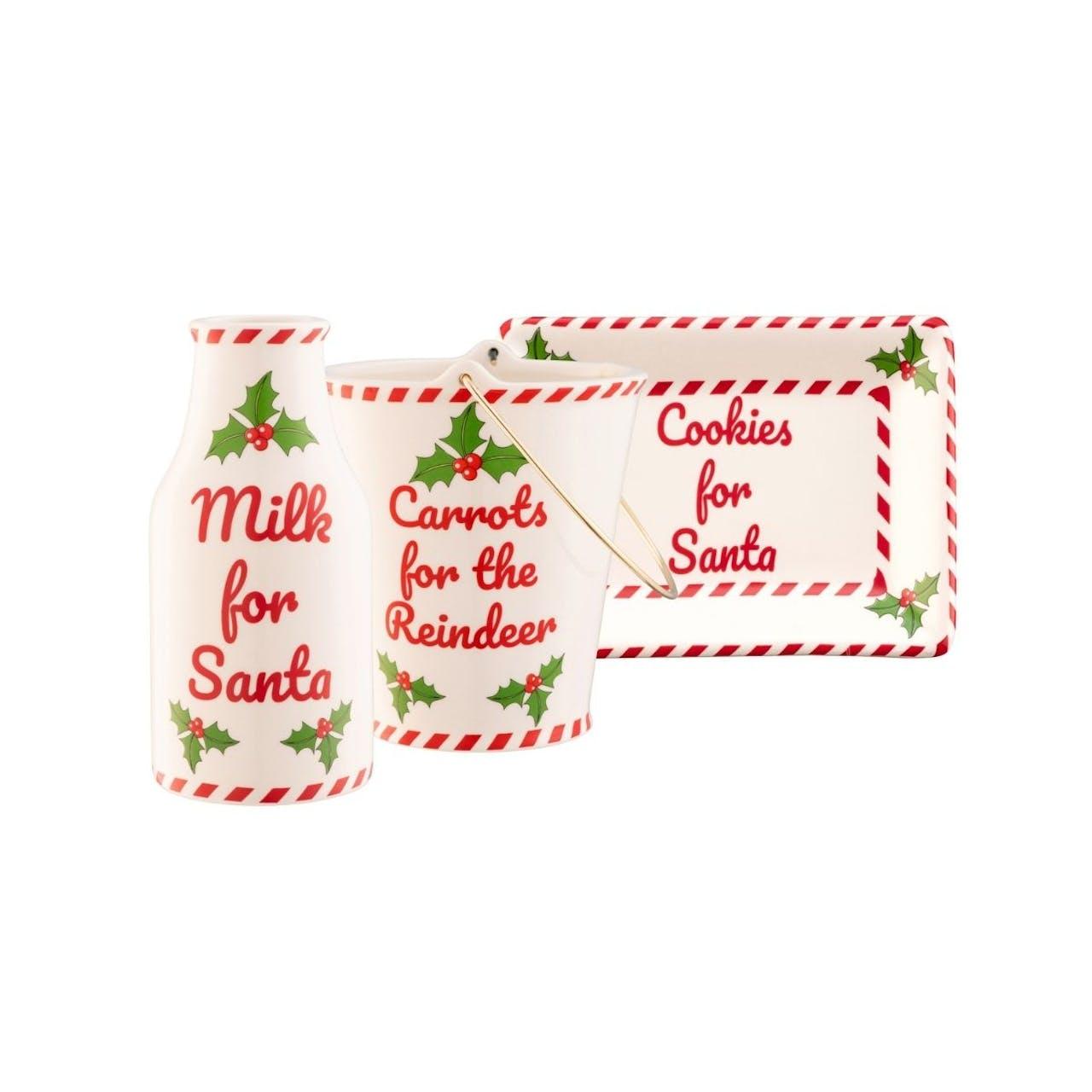 Belleek Santa's Visit Set lifestyle