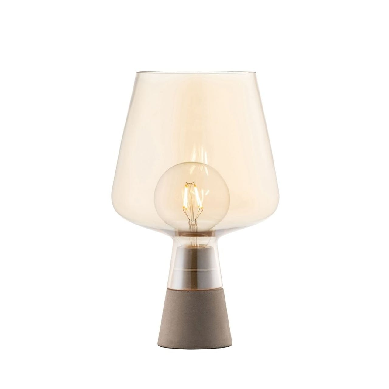 Galway Crystal Large glass table lamp