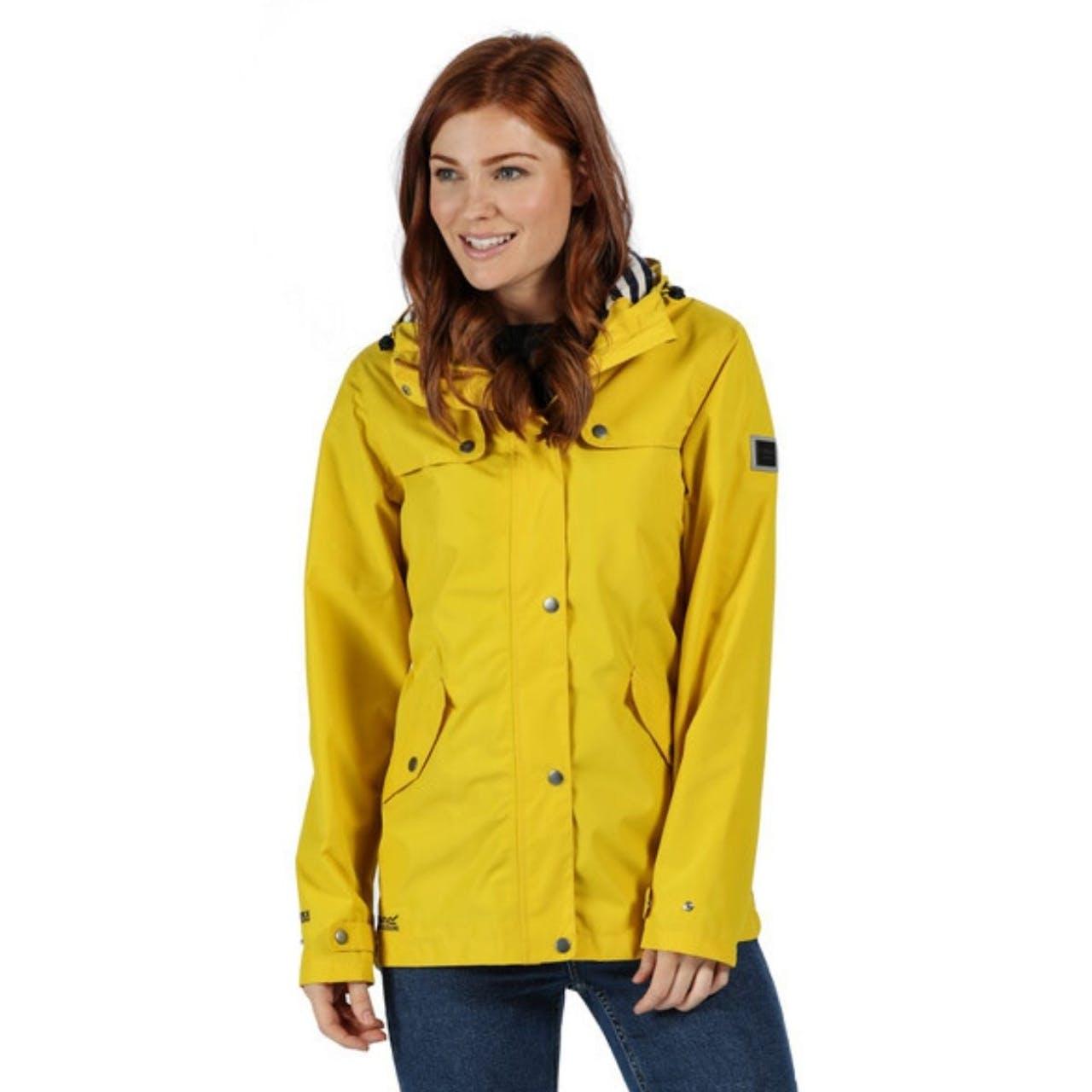 Regatta Bertille Ladies Yellow Jacket Front