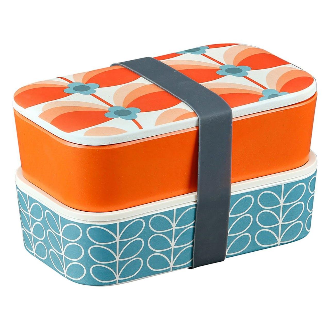 Orla Kiely Butterfly Stem Bubblegum Lunch Box