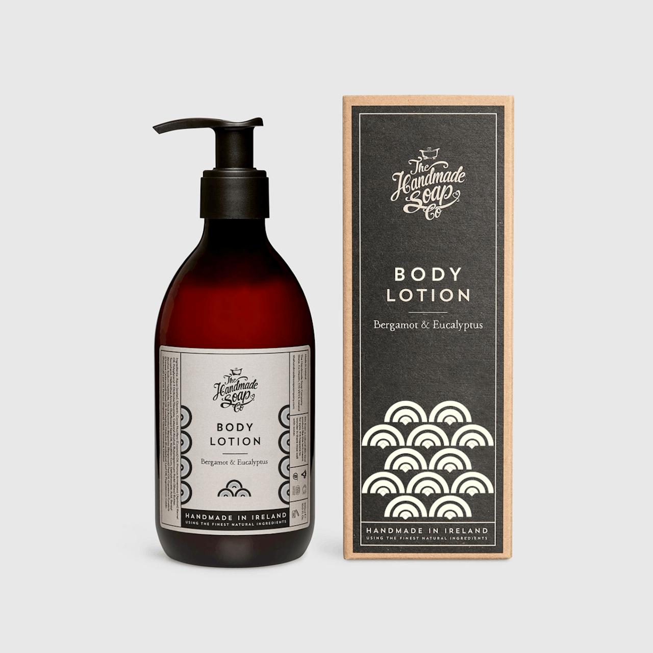 Handmade Soap Company Bergamot & Eucalyptus Body Lotion