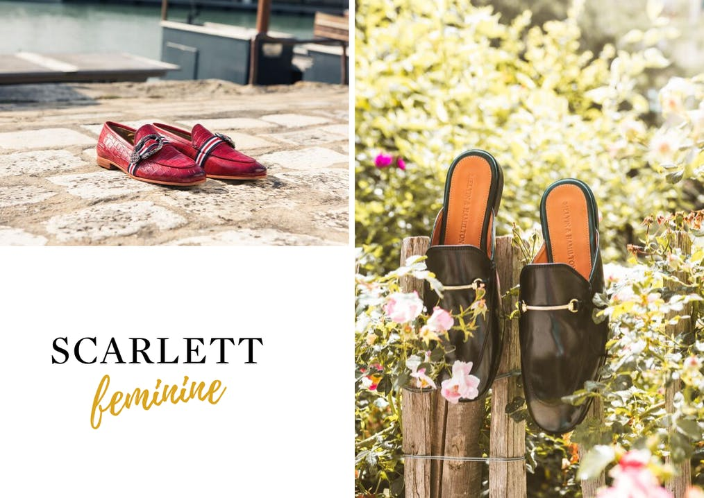 Famille de chaussures Scarlett Melvin & Hamilton