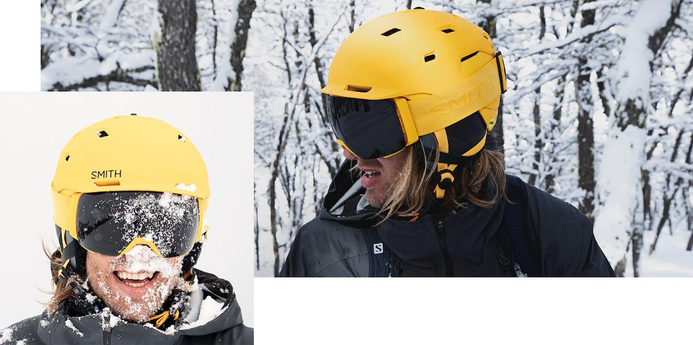 Skihelme und Skibrillen von Smith: Style und Sicherheit