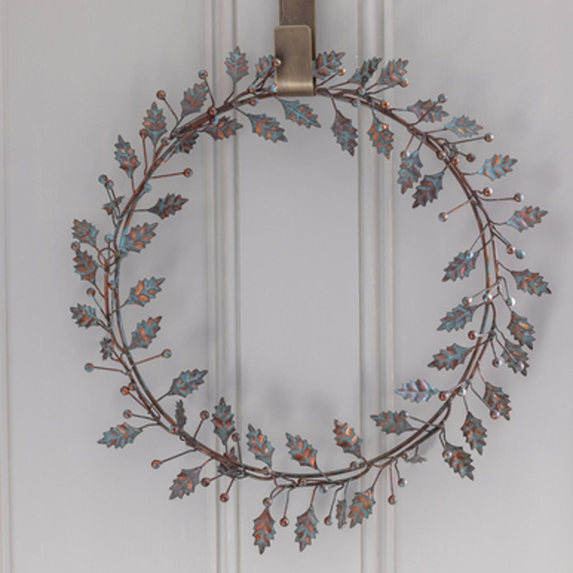 Vintage Holly Wreath