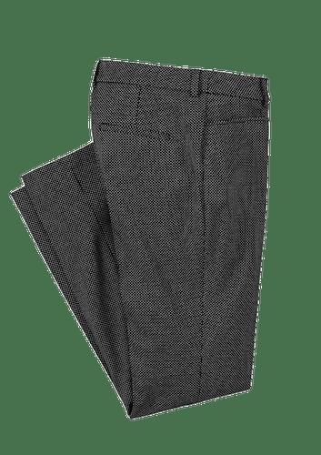 Schwarze Hose mit weißen Pünktchen