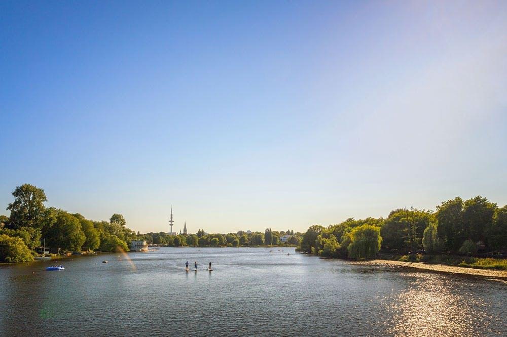 SportScheck Run Hamburg um die Alster
